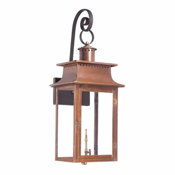elk outdoor gas shepherd 39 s scroll wall lantern maryville collection in solid brass in an aged. Black Bedroom Furniture Sets. Home Design Ideas