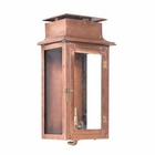 ELK Outdoor Gas Wall Lantern Maryville Collection in Solid Brass in An Aged Copper Finish. EK-7941-WP