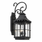 ELK Outdoor Wall Lantern Taos Collection  in A Espresso Finish EK-8451-E