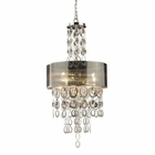 ELK Parisienne 3-Light Pendant in A Silver Leaf Finish EK-14062-3