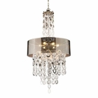 ELK Parisienne 6-Light Pendant in A Silver Leaf Finish EK-14063-6