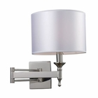 ELK Pembroke 1-Light Sconce Swing Arm in Polished Nickel EK-10160-1