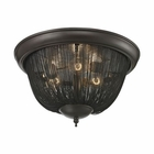 ELK Pesaro 3 Light Flushmount in Oil Rubbed Bronze EK-11825-3