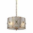ELK Preston 2 Light Pendant in Brushed Brass EK-22003-2