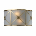 ELK Preston 2-Light Sconce in Brushed Brass EK-22000-2