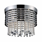 ELK Rados 5 Light Flush Mount in Polished Chrome EK-30023-5
