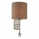 ELK Regina Collection 2 Light Sconce in Brushed Nickel EK-17151-2