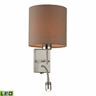 ELK Regina Collection 2 Light Sconce in Brushed Nickel - Led EK-17151-2-LED