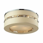 ELK Regis 4 Light Semi Flush in Polished Chrome EK-31635-4