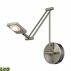 ELK Reilly 1 Light Swingarm in Brushed Nickel EK-54018-1
