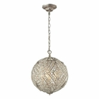 ELK Renaissance  Collection 5 Light Pendant in Sunset Silver EK-16239-5