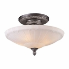 ELK Restoration 4-Light Semi Flush in Dark Silver  EK-66093-4