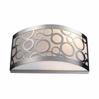 ELK Retrovia 2-Light Sconce in Polished Nickel EK-31020-2