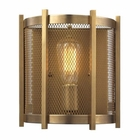 ELK Rialto Collection 1 Light Sconce in Aged Brass EK-31480-1