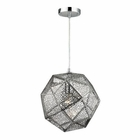 ELK Roxa 1 Light Pendant in Polished Chrome EK-17190-1