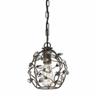 ELK Sagemore 1 Light Pendant in Bronze Rust EK-18141-1
