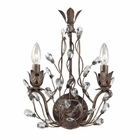 ELK Sagemore Collection 2 Light Sconce in Bronze Rust EK-18140-2