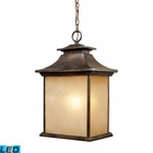 ELK San Gabriel 1-Light Outdoor Pendant in Hazelnut Bronze - Led EK-42183-1-LED