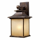 ELK San Gabriel 1-Light Outdoor Sconce in Hazelnut Bronze EK-42181-1