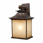 ELK San Gabriel 1-Light Outdoor Sconce in Hazelnut Bronze EK-42182-1