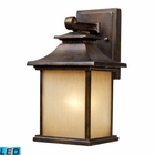 ELK San Gabriel 1-Light Outdoor Sconce in Hazelnut Bronze - Led EK-42180-1-LED