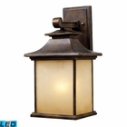 ELK San Gabriel 1-Light Outdoor Sconce in Hazelnut Bronze - Led EK-42181-1-LED