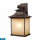 ELK San Gabriel 1-Light Outdoor Sconce in Hazelnut Bronze - Led EK-42182-1-LED