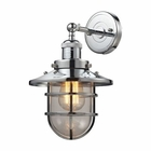 ELK Seaport 1 Light Sconce in Polished Chrome EK-66346-1