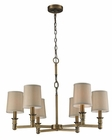 ELK Six Light Chandelier Baxter EK-31266