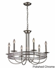 ELK Six Light Chandelier Braxton EK-10231