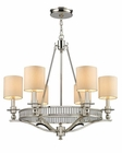 ELK Six Light Chandelier Easton EK-10167