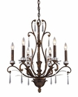 ELK Six Light Chandelier Emilion EK-2183