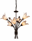 ELK Six Light Chandelier Fioritura EK-7958