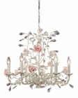 ELK Six Light Chandelier Heritage EK-8092