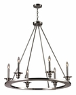 ELK Six Light Chandelier Port Solerno EK-31225