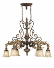 ELK Six Light Chandelier Regency EK-2161