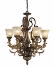 ELK Six Light Chandelier Regency EK-2163