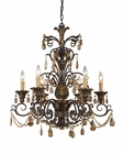 ELK Six Light Chandelier Rochelle EK-3344