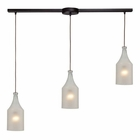 ELK Skylar 3 Light Pendant in Oiled Bronze EK-46005-3L