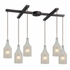 ELK Skylar 6 Light Pendant in Oiled Bronze EK-46005-6