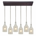 ELK Skylar 6 Light Pendant in Oiled Bronze EK-46005-6RC