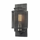 ELK Slatington 1 Light Sconce in Silvered Graphite/Brushed Nickel EK-31235-1