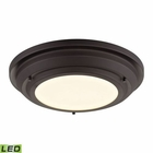 ELK Sonoma Collection Led Flushmount in Oil Rubbed Bronze EK-57020-LED