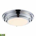 ELK Sonoma Collection Led Flushmount in Polished Chrome EK-57010-LED