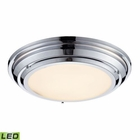 ELK Sonoma Collection Led Flushmount in Polished Chrome EK-57011-LED