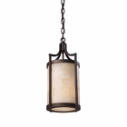 ELK Spanish Mosaic 1-Light Pendant in Aged Bronze EK-19000-1