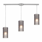 ELK Synthesis 3 Light Pendant in Satin Nickel EK-10243-3L-FSM