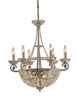 ELK Ten Light Chandelier Elizabethan EK-5967