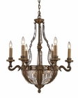 ELK Ten Light Chandelier Millwood EK-2496