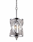 ELK Three Light Chandelier Crystoria EK-11233